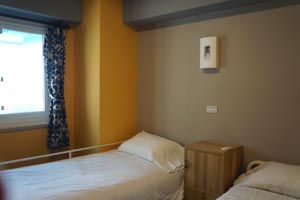 2-bed mixed dormitory